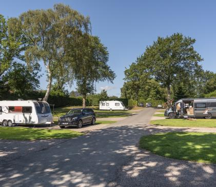 5 star caravan holiday park, Herefordshire photo