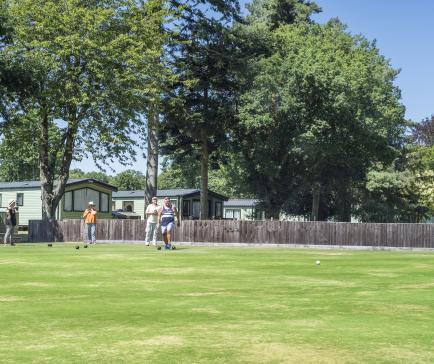 Bowling at Pearl Lake country holiday park