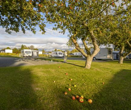 5 star touring site herefordshire