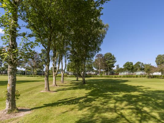 5 star caravan park with golf course photo