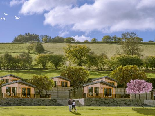 5 star holiday park at Rockbridge Park Wales