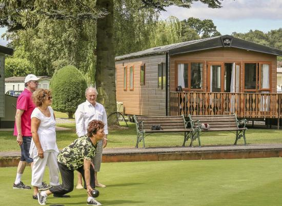 Holiday homes at Pearl Lake country holiday park