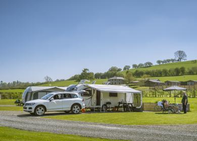5 star caravan holiday parks in Herefordshire and wales