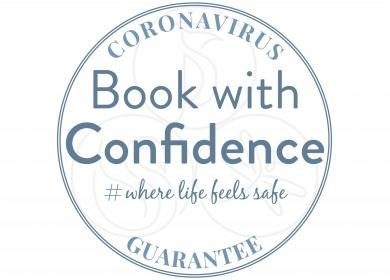 Book with confidence - social distancing holidays