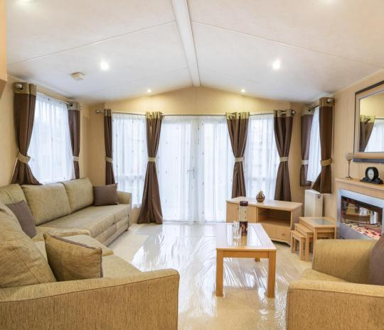 Willerby Winchester for sale at Pearl Lake living area photo