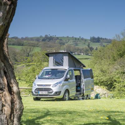 5 star touring caravan site Herefordshire and Wales