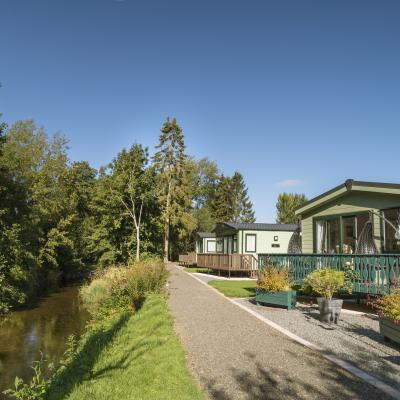 Arrow Bank 5 star caravan park Herefordshire
