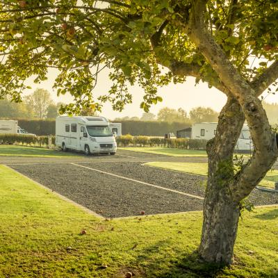 5 star touring site at Arrow Bank herefordshire