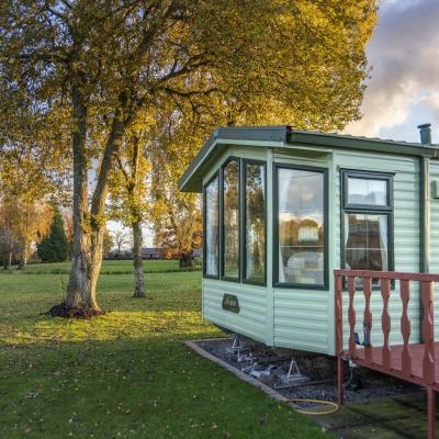 Willerby Aspen for sale at Discover Parks exterior photo